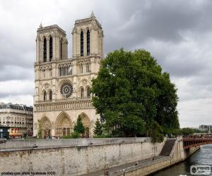 Puzle Catedral de Notre-Dame, Paris