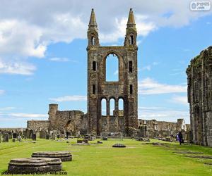 Puzle Catedral de St Andrews, Escócia