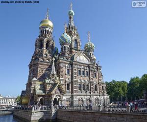 Puzle Catedral do Sangue Derramado, Rússia