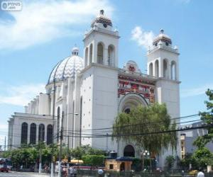 Puzle Catedral Metropolitana de São Salvador, San Salvador, El Salvador