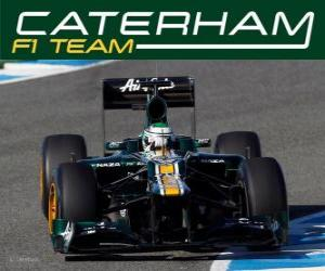 Puzle Caterham CT01 - 2012 -