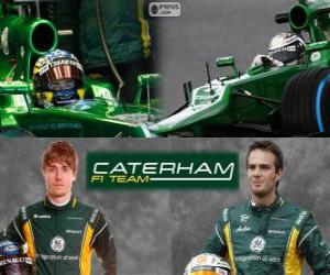 Puzle Caterham F1 Team 2013