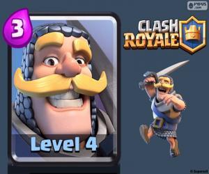 Puzle Cavaleiro Clash Royale