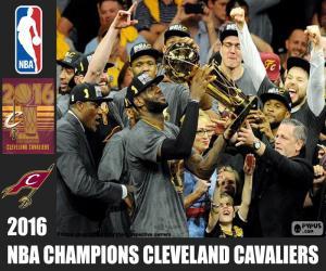 Puzle Cavaliers, campeão da NBA 2016