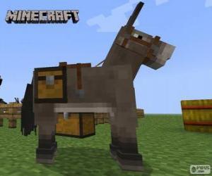 Puzle Cavalo de Minecraft
