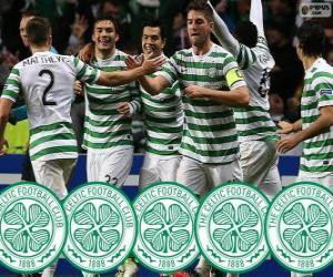 Puzle Celtic FC campeão 2013-2014