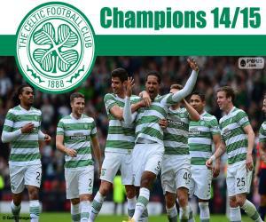 Puzle Celtic FC campeão 2014-2015