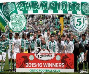 Puzle Celtic FC campeão 2015-2016