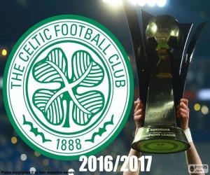 Puzle Celtic FC campeão 2016-2017