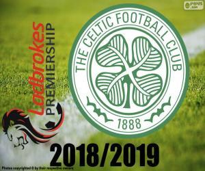 Puzle Celtic FC, campeão 2018-2019