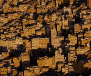 Puzle Centro de Sanaa, Iémen