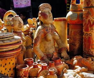 Puzle Cerâmica Maia