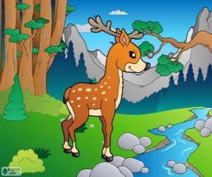 Puzle Cervo