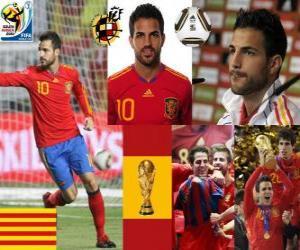 Puzle Cesc Fàbregas (Barcelona é o futuro do) meia da seleção espanhola