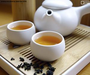 Puzle Chá chinês