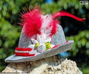 Puzle Chapéu da Baviera