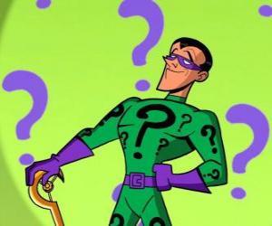 Puzle Charada ou Enigma é um super-vilão obcecado com os enigmas e um inimigo do Batman