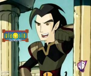 Puzle Chase Young, inimigo poderoso para os guerreiros Xiaolin