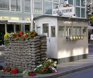 Puzle Checkpoint Charlie, Berlim