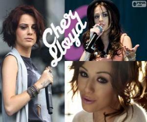 Puzle Cher Lloyd é uma cantora britânica