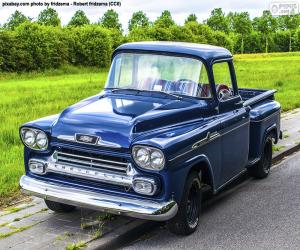Puzle Chevrolet Apache, 1959