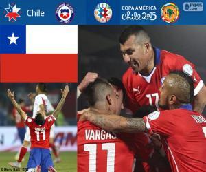 Puzle CHI finalista, Copa América 2015