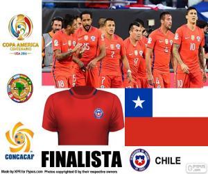 Puzle CHI finalista Copa América 2016