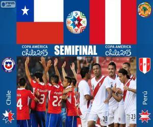 Puzle CHI - PER, Copa América 2015