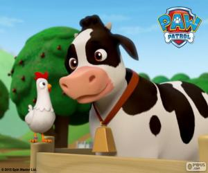 Puzle Chickaletta eu Bettina, PAW Patrol