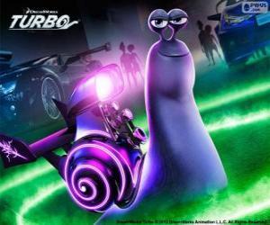 Puzle Chicote do filme Turbo
