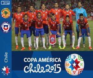 Puzle Chile Copa América 2015