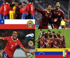 Puzle Chile - Venezuela, quartas, Argentina 2011