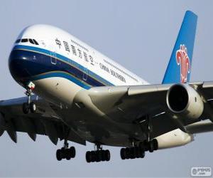 Puzle China Southern Airlines é a maior aerolina chinês