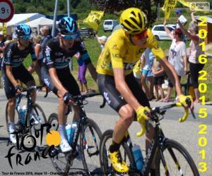 Puzle Chris Froome, Tour de France 2016
