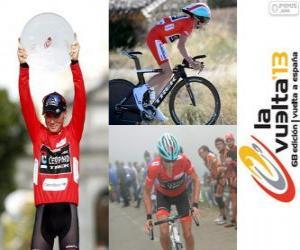 Puzle Chris Horner, campeão da Volta a Espanha 2013