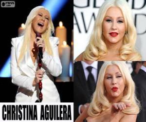 Puzle Christina Aguilera