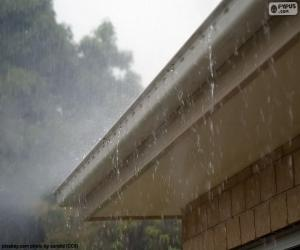 Puzle Chuva torrencial