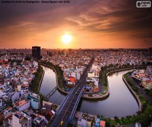 Puzle Cidade de Ho Chi Minh, Vietnã