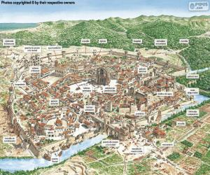 Puzle Cidade Medieval