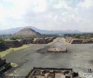 Puzle Cidade pré-hispânica Teotihuacán