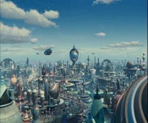 Puzle Cidade Robô