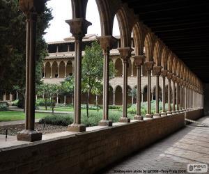 Puzle Claustro do Mosteiro de Pedralbes