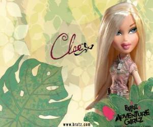 Puzle Cloe: - Angel - é a loira com olhos azuis. Seu nome do meio é Fanny, é a honestidade, às vezes brutal, mas perdoável.