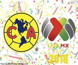 Puzle Club América, campeão do Apertura 2018