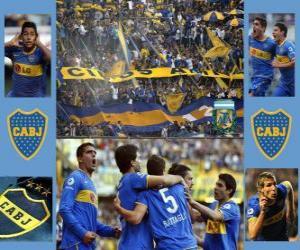 Puzle Club Atlético Boca Juniors