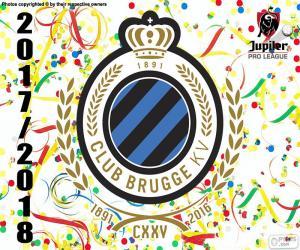 Puzle Club Brugge KV, Pro League 2017-2018
