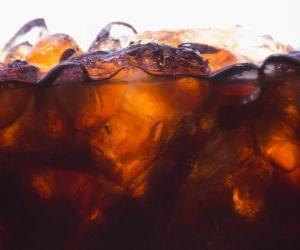 Puzle Coca-Cola com gelo