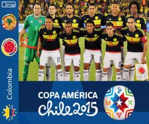 Puzle Colômbia Copa América 2015