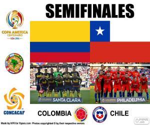 Puzle COL-CHI, Copa América 2016