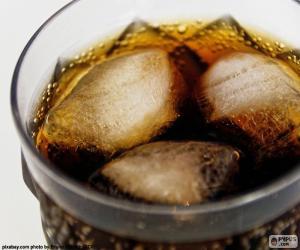 Puzle Cola com gelo